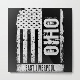 East Liverpool Ohio Metal Print