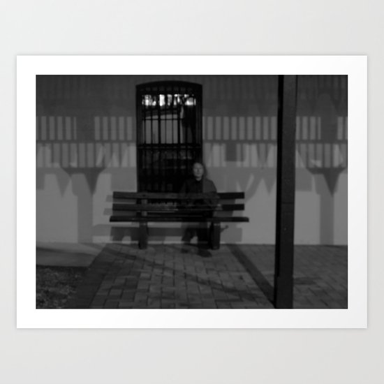 then just for a moment... I would materialise - VACANCY zine Art Print