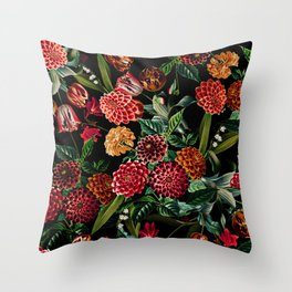 Magical Garden - II Throw Pillow