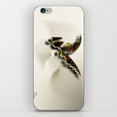 Butterfly Abstract iPhone & iPod Skin
