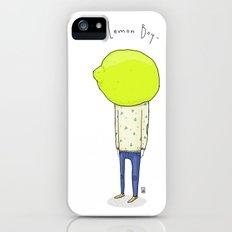 Lemon Boy Slim Case iPhone (5, 5s)