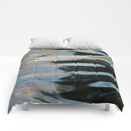 Abstract Water Surface Comforters