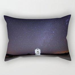 Abandoned White House Rectangular Pillow