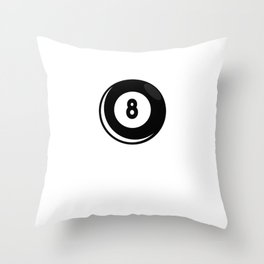 "Nice Billiard Shirt For Players ""I'm Probably Playing About To Play Thinking About Playing"" T-shirt Throw Pillow"