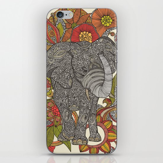 Bo the elephant iPhone & iPod Skin