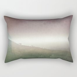 colorful trip Rectangular Pillow