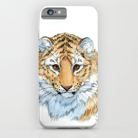 Young Sweet Tiger iPhone & iPod Case