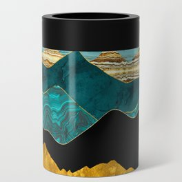 Turquoise Vista Can Cooler