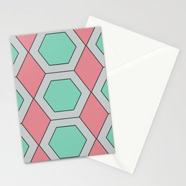 Pastel Geo Stationery Cards