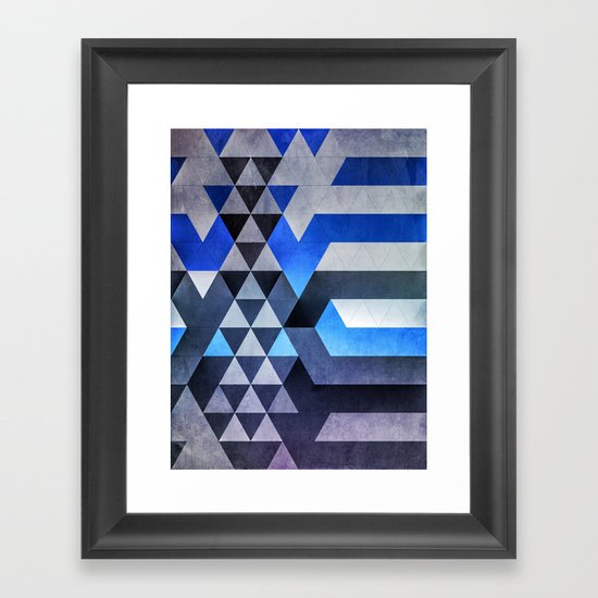 kyr dyyth Framed Art Print