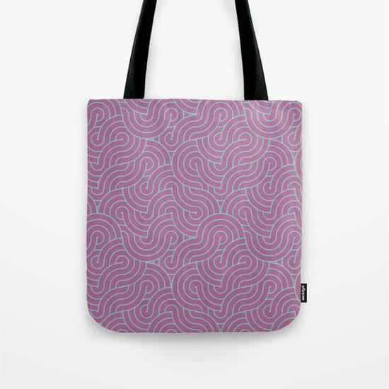 SWIRL / candy Tote Bag
