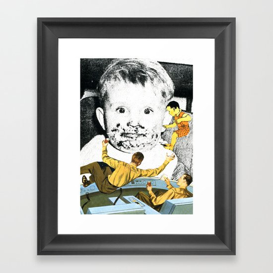 Searching For Lost Youth Framed Art Print