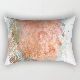 Feather Swash Rectangular Pillow