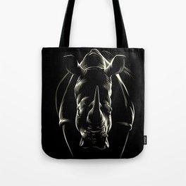 Rhino Shadows Tote Bag