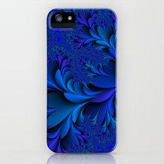 Blue  Slim Case iPhone (5, 5s)