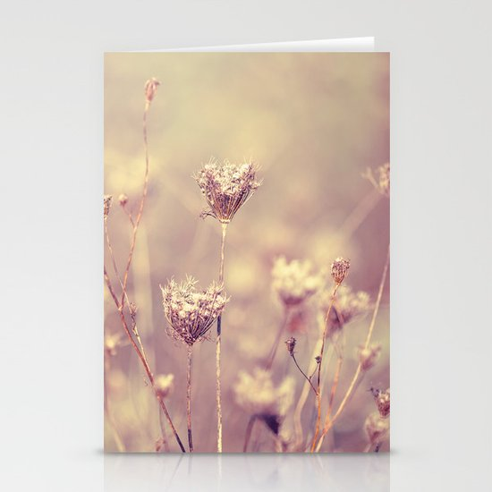Winter Queen Anne's Lace  Stationery Cards