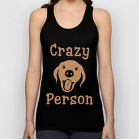 Crazy Dog Person [FOR WHITE] Unisex Tank Top