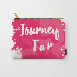 Journey Far Carry-All Pouch