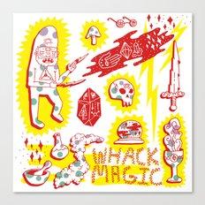 Whack Magic Canvas Print