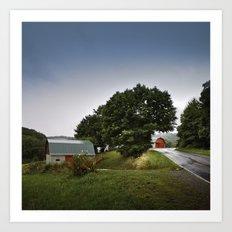 north carolina barnyards Art Print