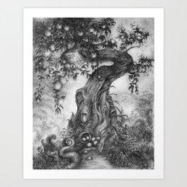 Fruited Art Print