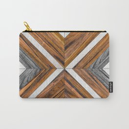 Urban Tribal Pattern No.4 - Wood Carry-All Pouch