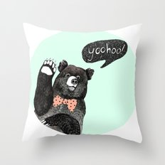 yoohoo! Throw Pillow