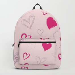 Heart Patterns Backpack