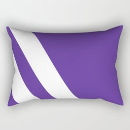 Northwestern Color Rectangular Pillow