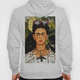Frida Kahlo Cat Hoody