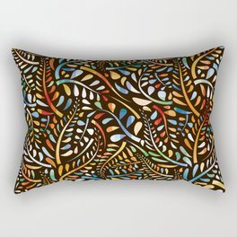 Organic pattern Rectangular Pillow