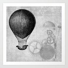 hot air balloon 4 Art Print