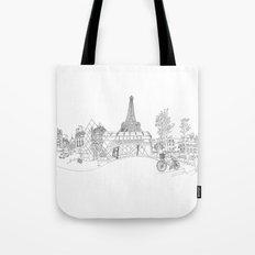 Paris! Version#1 Tote Bag