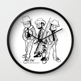 Rock Box (The Best to Ever Do it) Wall Clock