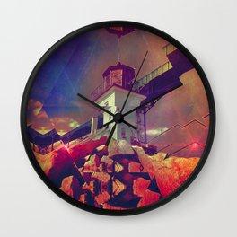 brystyl lyyt Wall Clock