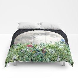 Night Garden Moon Magick Comforters
