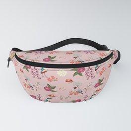 Eastern delight Japanese garden, pink. Fanny Pack