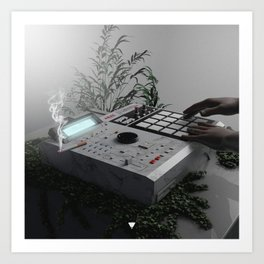 MPC 2000XL GURU ∀ Art Print