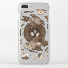 Share Clear iPhone Case