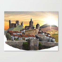 Cogolludo Sunrise Canvas Print