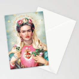 Saint Frida Kahlo Stationery Cards
