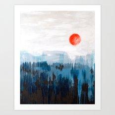 Sea Picture No. 3 Art Print