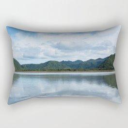 Cloud Reflections Photography Print Rectangular Pillow