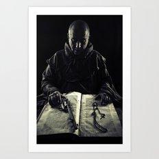 the avenger monk Art Print