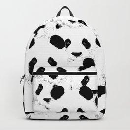 Panda pattern Backpack