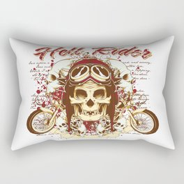 Hell Rider Rectangular Pillow