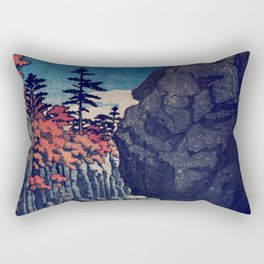 Hunker Down at Risna Rectangular Pillow