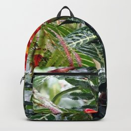 Tropical Heliconia Flowers 03 Backpack