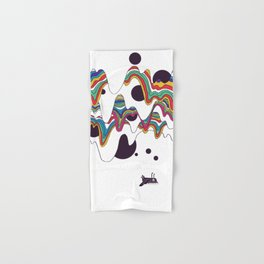 Psychedelic Planet Hand & Bath Towel