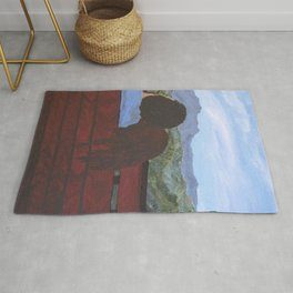 Love in the Mountains Rug